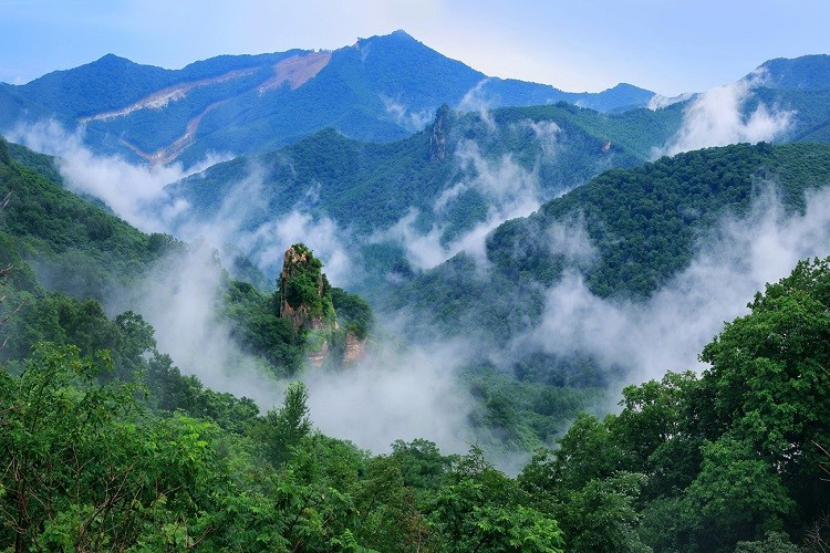 丹东天桥沟国家森林公园