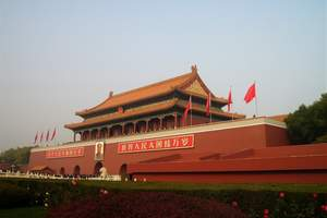 十月一青岛到北京天津天安门故宫颐和园长城意式风情街双高五日