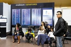 北欧航空大罢工导致百架航班取消 数万乘客滞留
