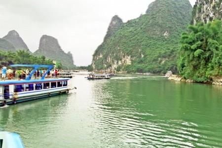 【玩转】到桂林游大漓江 世外桃园 银子岩 遇龙河漂流双飞6日