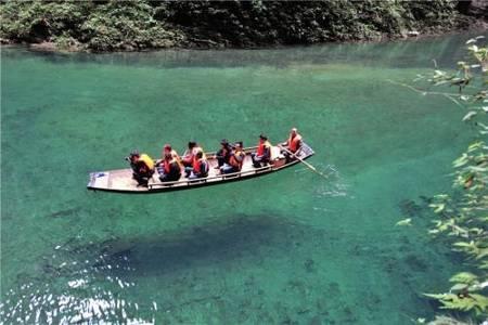 恩施屏山峽谷躲避峽一日游 懸浮船一日游