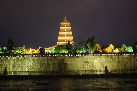 春节青岛出西安大唐芙蓉园兵马俑西岳华山明城墙亲子双高4日游