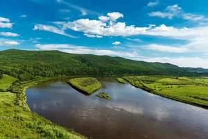 穿越莫日格勒河、醉美边防公路、黑山头蒙古包、满洲里四日游