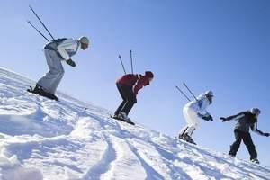 哈尔滨出发到亚布力滑雪_亚布力滑雪二日游_东北滑雪游