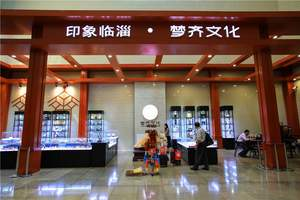 淄博临淄齐文化一日游:齐文化博物馆、殉马坑、中国古车博物馆