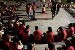 2020年延安黄土地教育培训中心单位团建拓展特训一日活动