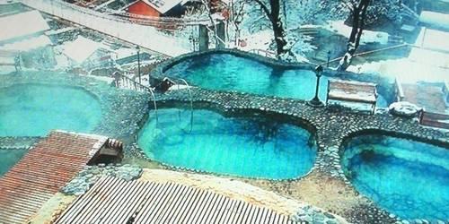 海螺沟二号营地温泉