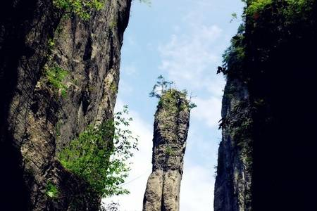 恩施土司城野三峡大峡谷腾龙洞女儿城4日游 武汉到恩施旅游