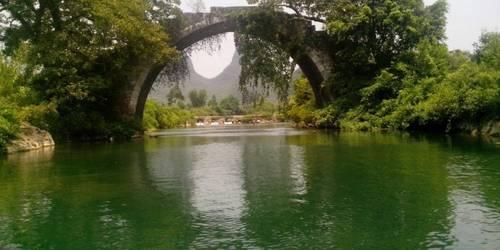 金龙桥漂流