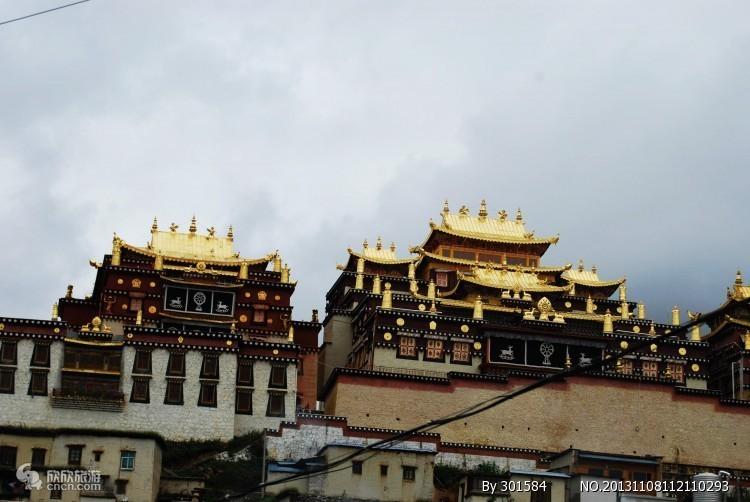 香格里拉松赞林寺