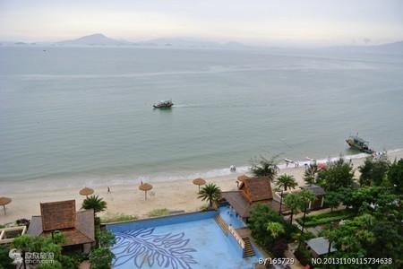 惠州出发到 惠东巽寮湾磨子石、网红打卡观海栈道海龟湾、 出海扑鱼、帆船出海2天游