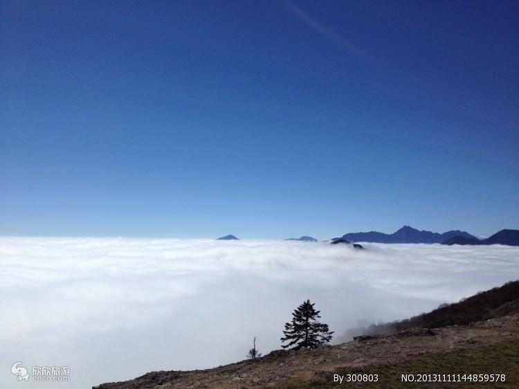西岭雪山 冬季