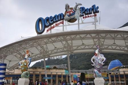 从惠州出发到 香港海洋+迪士品质两天团 (天天出发)