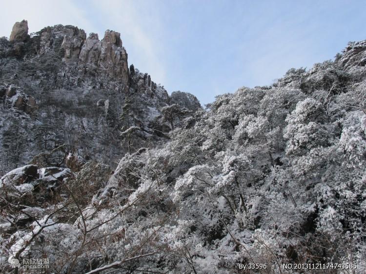 中国安徽黄山世界地质