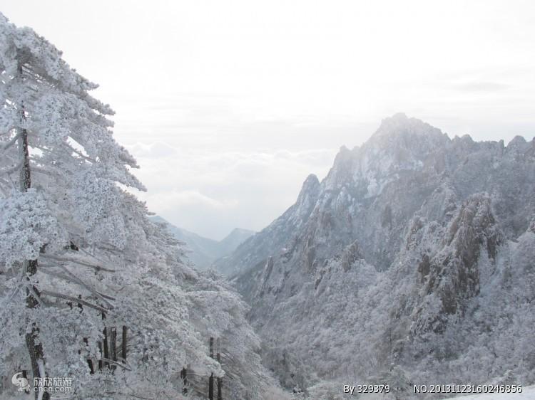 中国安徽黄山景区