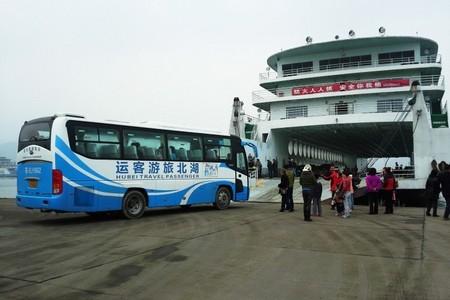 武汉自驾车乘船游三峡(新高湖游轮,三峡旅游新体验)