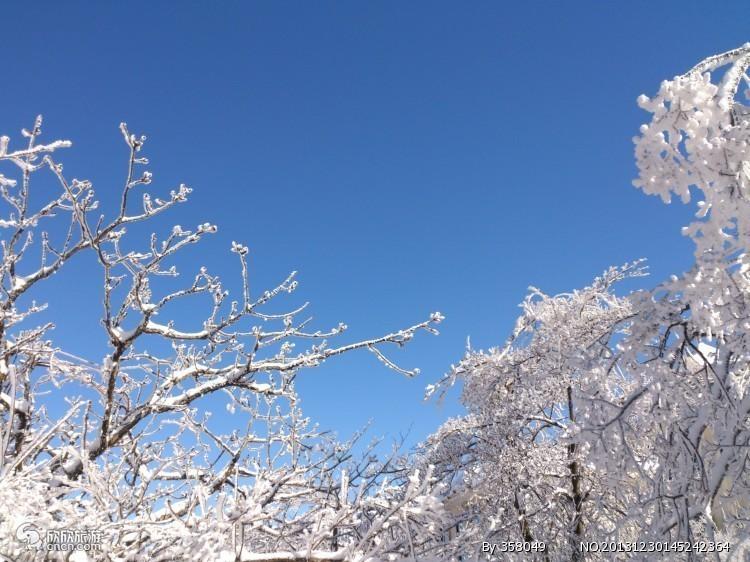 冬季黄山雪景