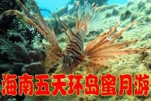 温州到海南旅游三亚5日游、海之梦温泉酒店、海边酒店 纯玩游