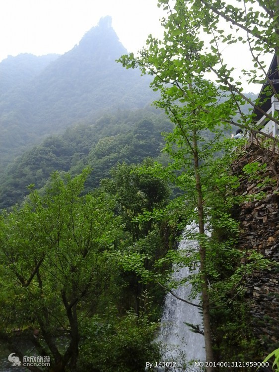 神农架官门山图片