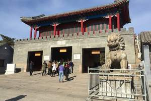 北京出发到承德2日多少钱【避暑山庄 普宁寺】旅行社线路推荐