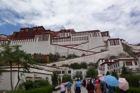 全景【云上西藏】拉萨布宫、林芝、巴松措-山东成团四飞7天