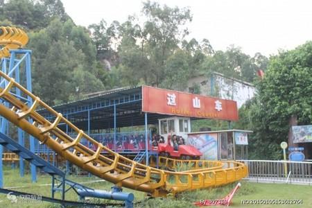 惠州出发到 东莞隐贤山庄机动游戏 玻璃桥  亲亲动物园一天游