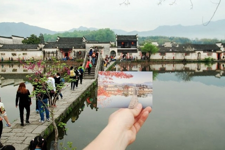 宏村旅游团-宏村半日游-高铁站到宏村线路(一天2班任选、纯玩团、含车导服务)