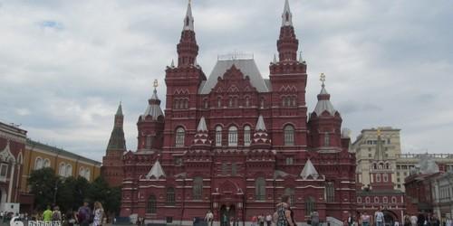 莫斯科克里姆林宫和红场