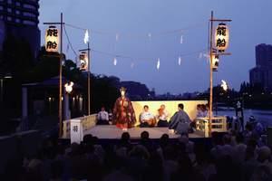 """你不了解的日本文化——传统戏剧""""薪能"""""""