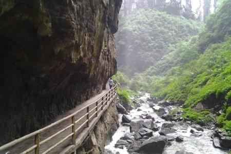 武汉出发到重庆武隆世界遗产双卧五日游
