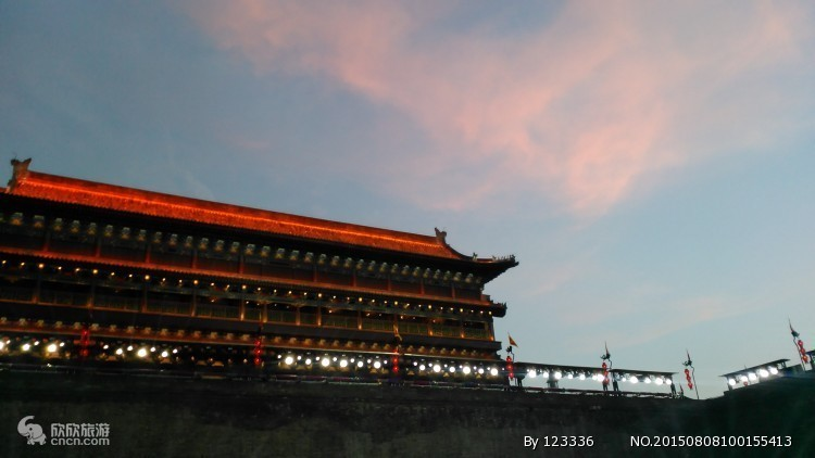 西安南门瓮城城楼