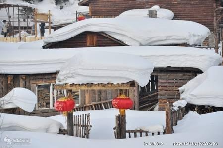 冬季武汉出发到冰城哈尔滨亚布力滑雪 雪乡 双卧7日游