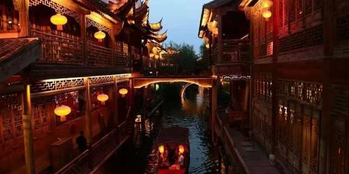 冬季省内旅游线路推荐—台儿庄古城+仙坛山日式温泉纯玩二日游