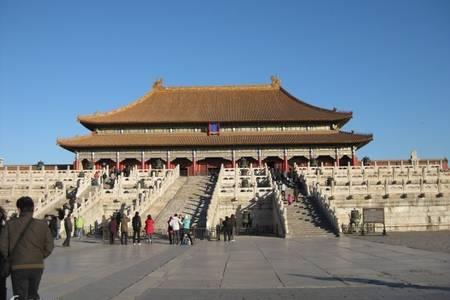 青岛到北京大巴跟团推荐 故宫天安门颐和园长城大巴4日游 各市区接送