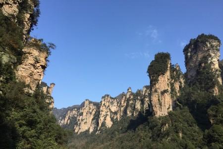 奇山异水张家界峰林奇观天子山/高铁(长沙进出)三日游