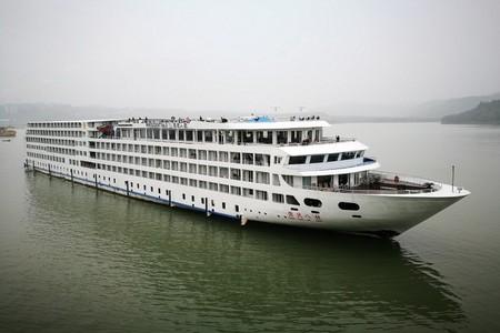 总统八号邮轮 宜昌到重庆三峡游轮五日游
