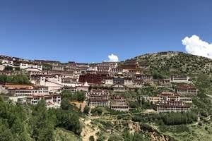 西藏拉萨甘丹寺