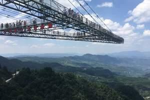重庆万盛奥陶纪一日游 8大高空玻璃廊桥主题公园,VIP纯玩!