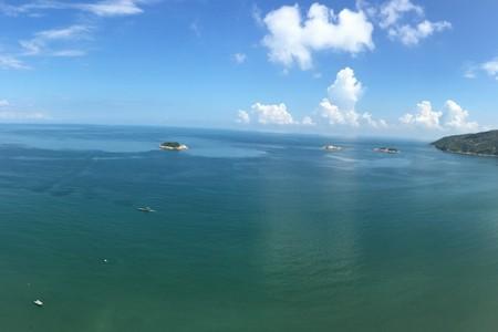 惠州 惠东双月湾 大星山观景台 小星山浮潜 西班牙小镇 一天游