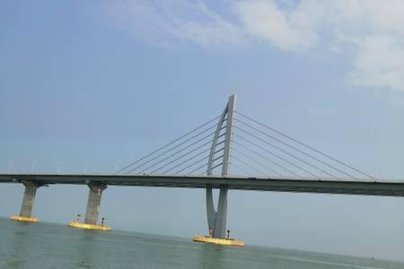 【游轮港珠澳大桥】广州出发游大桥+台山富丽湾泡温泉纯玩二天