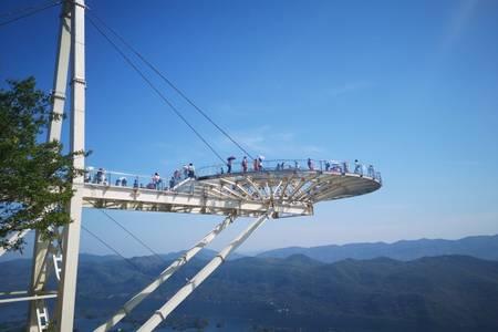 【天空之城】黄石仙岛湖玻璃桥阳新天空之城玩美一日游