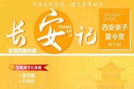 西安亲子夏令营:青岛到西安高铁飞机5日游,陕西三大著名博物馆