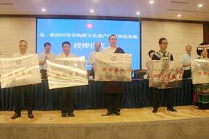 四川省公布第一批非遗项目体验基地