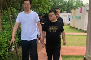 黑龙江省旅游投资集团董事长孟利一行来访欣欣旅游考察交流