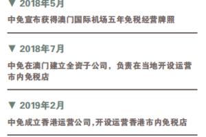 首设香港市内免税店 中免版图再扩大