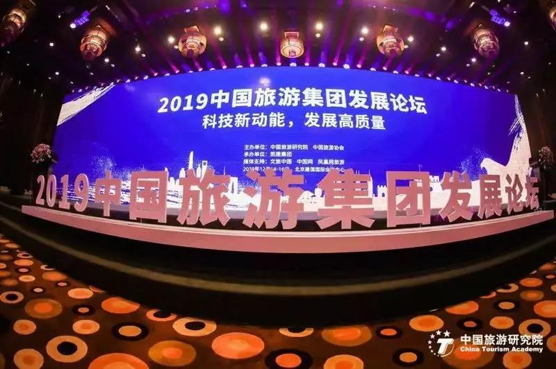 欣欣旅游赖润星受邀出席2019中国旅游集团发展论坛