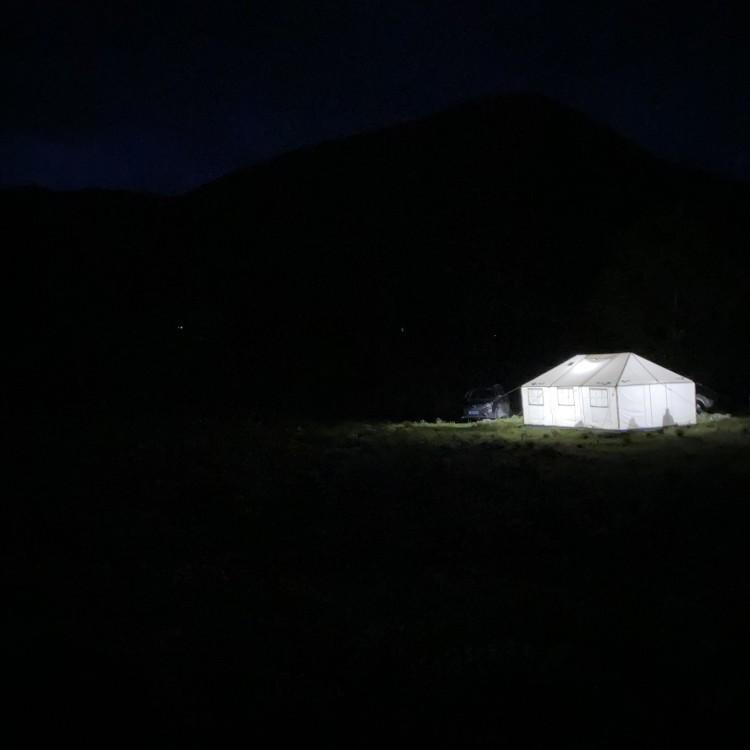新都桥 帐篷露营